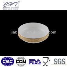 A010 High quality bone china porcelain beach ashtray