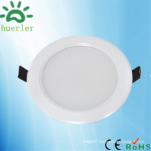 hot sale high quality white thin ceiling light 100-240v 4 inch smd5730 9w led downlight globe