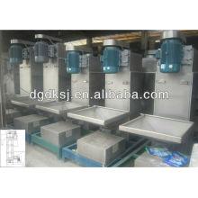 secadora centrífuga de línea de secado de plástico / sistema