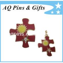 Broche de la insignia del Pin del metal de la alta calidad del precio de fábrica (insignia-035)