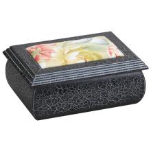 Nuevo tipo caja de joyería antigua de madera para el regalo