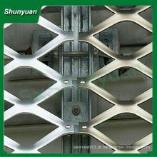 Alta qualidade pequeno orifício 0,4x0,5 milímetros alumínio expandido malha metálica / malha de arame de filtração de ar