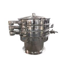 Peneira vibratória circular de aço inoxidável para máquina de farinha