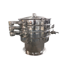 Criba vibratoria circular de acero inoxidable