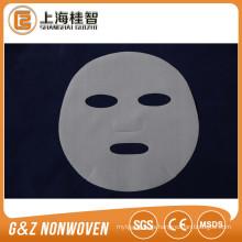 Máscara facial de malla de PE que toca el paño para la máscara de seda