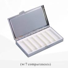 Boîte à comprimés de 7 jours par semaine (BOX-37)