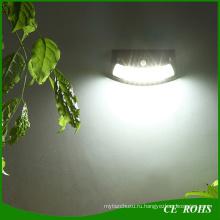 Роман улыбка Солнечная движения pir Датчик стены свет легко установить декоративный напольный тусклый солнечный свет сада