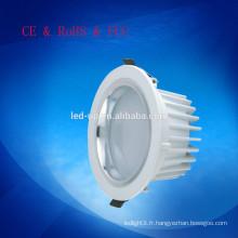 Qualité supérieure de 205 mm de surface de surface montée en mousse montée vers le bas des lumières 24w