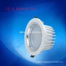 Top quality 205mm cut-out size surface mounted cob led down lights 24w