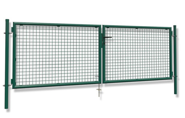 3000mm Double Wire Mesh Fence Garden Gate