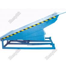 Venta caliente equipo de carga contenedor hidráulico sistema de elevación ramp ramp nivelador