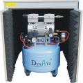 Silent Oilless Air Kompressor mit Lufttrockner und Silent Cabinet