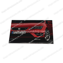 S-1109 Magazine Card with LED، Postcard، Iinvitation Card with LED، Flashing Card