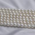 9-10mm a + off Круглая культивированная пресноводная жемчужная нить