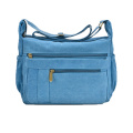 Vintage Casual Canvas Material Messenger Bag for Man