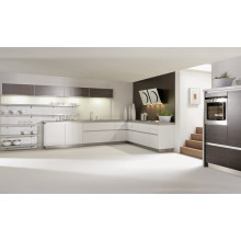 L Shape Stainless Steel Kitchen Cabinet