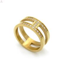 Finger Band Mosaik Cz Zirkon Gold H Brief Ring