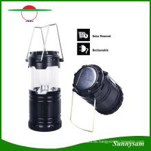 Außenbeleuchtung Portable Erweiterung Typ Solarenergie Wiederaufladbare Camping Laterne Biwak Wandern Camping Licht LED Lampe