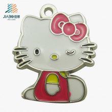 Top Quality Cheap Wholesale Hellokitty Metal Custom Jewellery Pendant