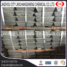 Utilisation de batterie de stockage Antimony Sb Metal lingot 99.65% Min