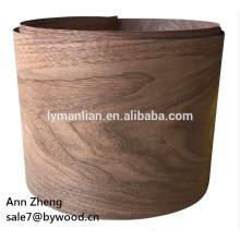 Uso de muebles y chapa de madera natural Tipo de chapa de nogal negro chapa de madera china