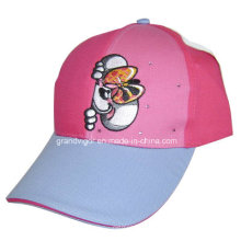 Children Cotton Baseball Cap with Metal Stars and Embroidery