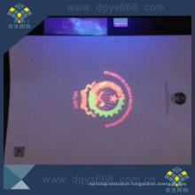 UV Logo Security Certificate Printing