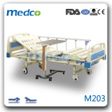 Two functions manual hospital flowler bed M203