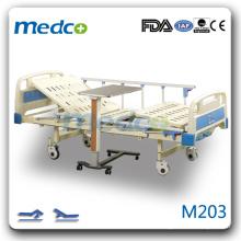 M203 Zwei Kurbeln Manuelles Intensivbett