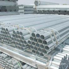 Seamless galvanized steel pipe