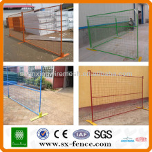 PVC coated canada temporary fencing(ISO9001:2008 professional manufacturer)