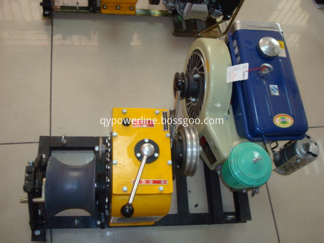 Cable Pulling Winch Diesel