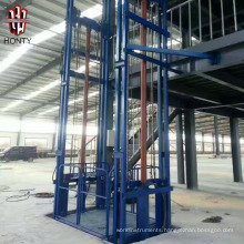 CE truck cargo mezzanine floor lifter and vertical goods material lift elevator