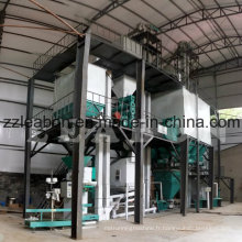 Chaîne de production complète pour granulés d'alimentation animale