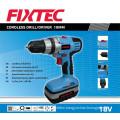 Fixtec 18V Ni-CD Battery Cordless Power Drill Motor