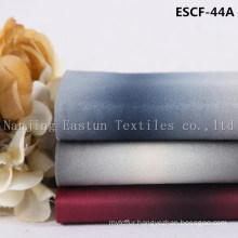 Print and Golden-Plating  Suede Fabric Escf-44A