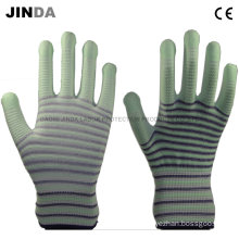 PU Coated Labor Protective Guantes Industrial Gloves (PU003)