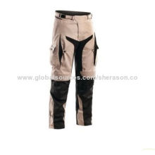 Man's sports pants, European safety standard, fully fit explorer waterproof adventure