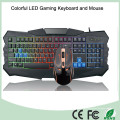 Top Selling bunte LED-Hintergrundbeleuchtung Computer Gaming Keyboard (KB-903EL-C)