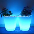 vasos de plástico e planta potes/diodo emissor ramo flor vaso luzes/iluminado pequenos vasos de flor
