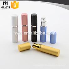 5ml wholesale colorful mini fancy refillable atomizer perfume