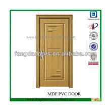 глубокий нажал основных конструкций тикового дерева двери
