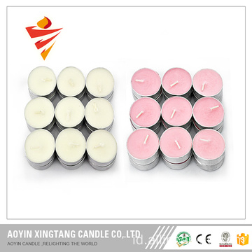 8g-23g Warna Tealight Candle in Cups
