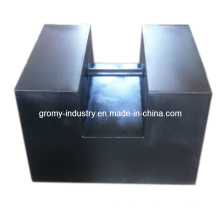 Peso de teste do ferro fundido M1 1000kg / 1t