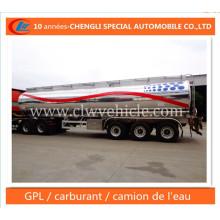 Citerne De Carburant Semi-Remorque En Alliage D′aluminium Trailer