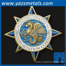 настроить металлические монеты, пользовательские совместные военно-транспортной командной вызов монета
