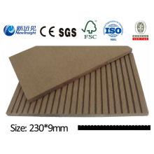 Alta qualidade WPC Plank com SGS CE Fsc ISO WPC parede Panle WPC Cladding Decorativa Placa de madeira Composto Lhma034