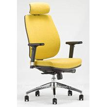 Chaise de travail tournante ergonomique moderne à haut dossier (HF-ZM4002)