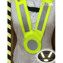 Reflective V Shape Safety Collar Vest