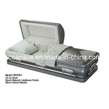 Aço de 18GA do caixão nos estilo 18h 2057